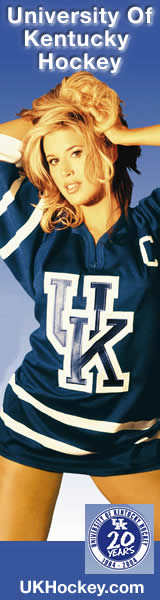 Amy Hayes supports University of Kentucky Hockey