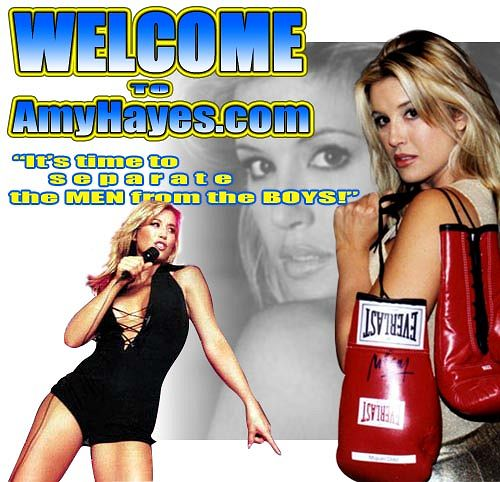 Amy Hayes Boxing Announcer