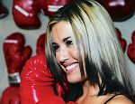 Boxing Ring Announcer Amy Hayes